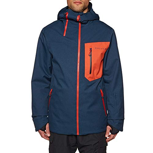 Rip Curl Rebound Fancy Snow Jacket Medium Dress Blue