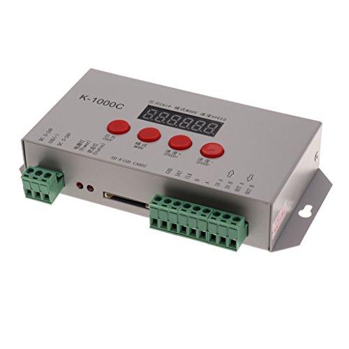 LOVIVER Controlador De Tira LED De Control Remoto Inalámbrico Software de Soporte Corrección GAMMA