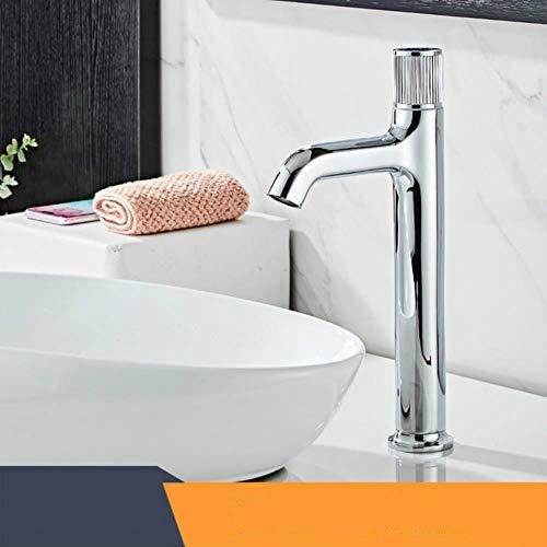 Cuenca del grifo pintado blanco Baño de agua mezclador del lavabo del grifo baño grifo caliente y fría WC latón fregadero grúa de Agua Negro 855800, cromo