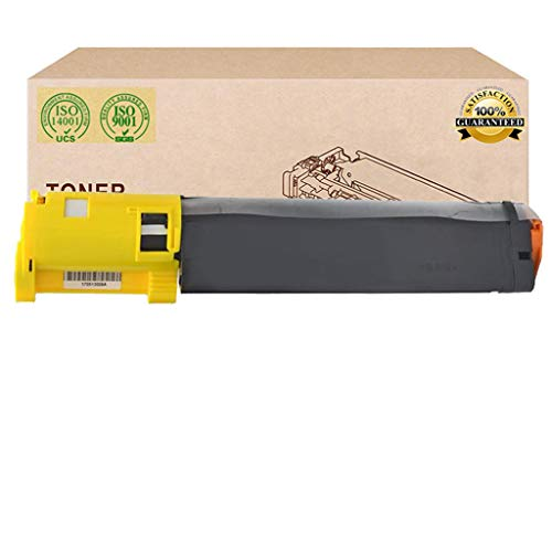 InkFenmSuitable for DELL 593-10154 593-10155 593-10156 593-10157 Toner Cartridge,Compatible Replace DELL 3000CN 3100CN 3010 Toner,Yellow
