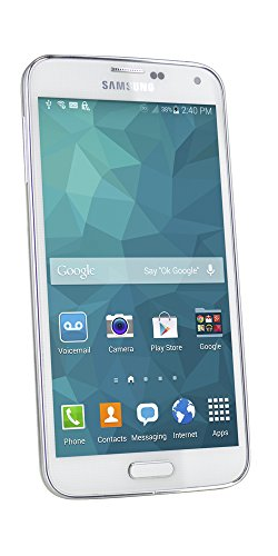 FreedomPop Samsung Galaxy S5 LTE - White - No Contract (Certified Refurbished)