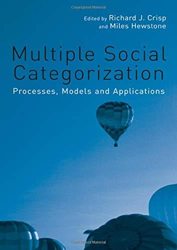 Multiple Social Categorization