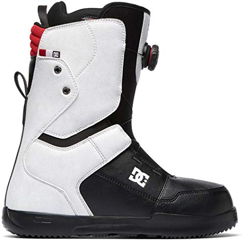 DC Scout BOA Snowboard Boots White Mens Sz 12