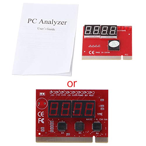 siwetg nieuwe computer PCI POST kaart moederbord LED 4-cijferige diagnostische test PC Analyzer 4-bit diagnostische kaart PCI moederbord diagnostische kaart