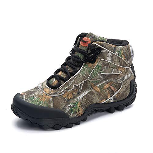 Zapatos de Senderismo de caña Alta Impermeables de Camuflaje para...