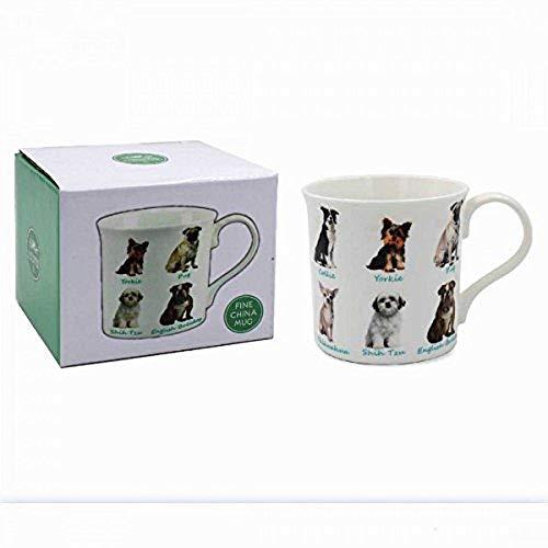 Lesser & Pavey Taza de Porcelana China para Perros en Caja de Regalo