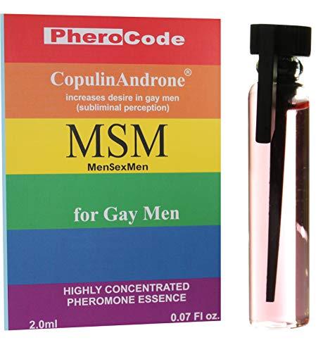 PheroCode MSM 2.0ml 100% Feromona para Hombres Gay Colonia Atrayente Masculino Sin Perfume