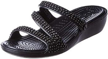 Crocs Women's Patricia Diamante Sandal Slide