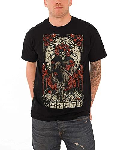 Opeth T Shirt Haxprocess Band Logo Mens New Black Men Black S