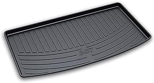 WAZJ Coche Maletero Bandeja para Peugeot 207 2012-2017,Goma Alfombrilla Trasero Maletero,Trasero Tronco Cargo Estera,Goma Alfombra Maletero Antideslizante,Coche Accesorios Interior