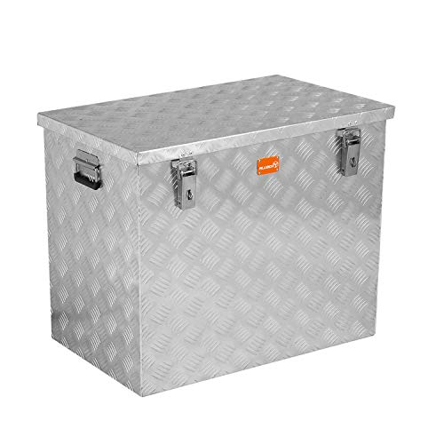 alubox R234 Aluminium Riffelblech Werkzeug Transportkiste 234 Liter