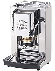 Faber Slow Pro Total Inox Máquina de café de cápsulas ESE 44 mm