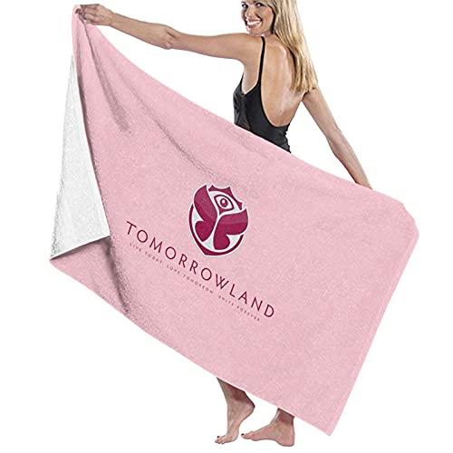 N\ Tomorrowland Festival Toalla de baño de secado rápido