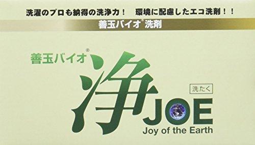 EcoPlatz 善玉バイオ洗剤 浄 JOE 2箱セット