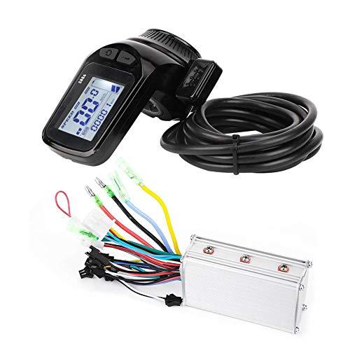 VGEBY Panel de Pantalla LCD de Bicicleta eléctrica 36V 350W Kit de Controlador sin escobillas de Bicicleta eléctrica Impermeable