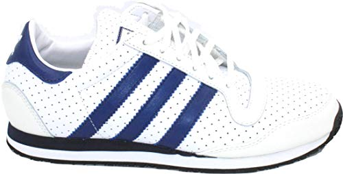 adidas Galaxy 3 LEA Sneakers Blanco Azul Marino Talla UK, color Blanco, talla 39 1/3 EU
