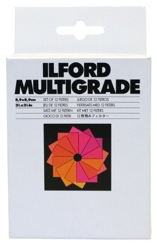 ILFORD MG Filters 3.5 x 3.5 Inches (1762628)