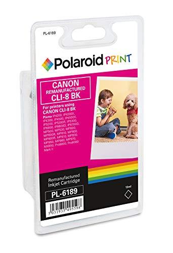 Polaroid 3D RM-PL-6189-00 - Cartucho de tinta para Canon CLI-8, color negro