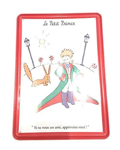 Editions Clouet, carte métal murale le petit prince reverberes