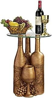 Design Toscano Wine and Dine Sculptural End Table