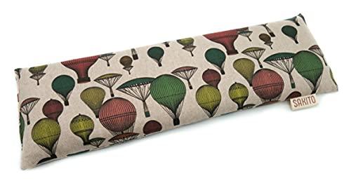 Saco Térmico Semillas Cervical Sin Olor de Trigo para Microondas | Bolsa semillas Sin Aroma Cuello, Lumbar | Saco semillas grande | 43x12 cm |