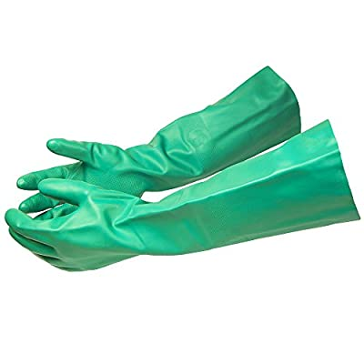 ThxToms 392°F Heat Resistant Rubber Gloves, Oil, Acid, Alkali and Solvent Resistant