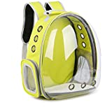 JEBBLAS pet Capsule Carrier Astronaut Pet Cat Dog Puppy Carrier Travel Bag Space Capsule Backpack Breathable