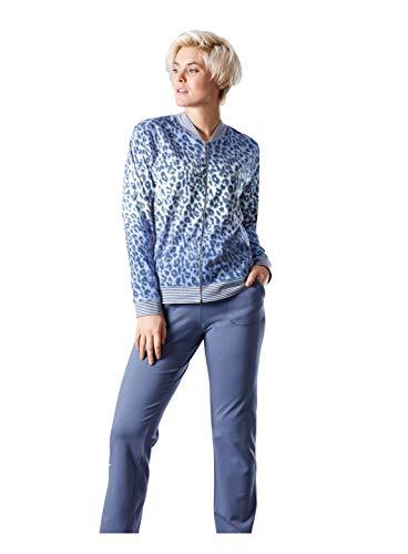 hajo Damen Strech Hausanzug Farbe: Jeans Gr. 42