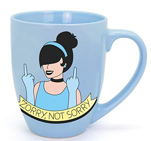 TAZA ZORRY, NOT SORRY ZORRICIENTA (MODERNA DE PUEBLO