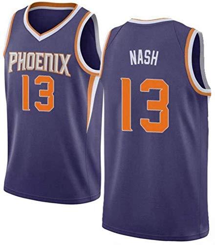 XXMM Camiseta De Baloncesto De La NBA, Uniforme De Baloncesto De Phoenix Suns # 13 Steve Nash, Uniforme De Entrenamiento De Secado Rápido Transpirable