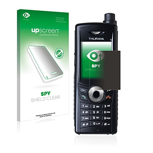 upscreen Anti-Spy Blickschutzfolie kompatibel mit Thuraya XT (3. Generation) Privacy Screen Sichtschutz Bildschirmschutz-Folie