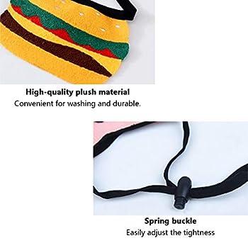 Bavoirs pour animal domestique mignon - Bavoirs pour chat ou chiot - En tissu résistant à l'humidité - Accessoires d'écharpe avec cordon de serrage élastique facile réglable (S)