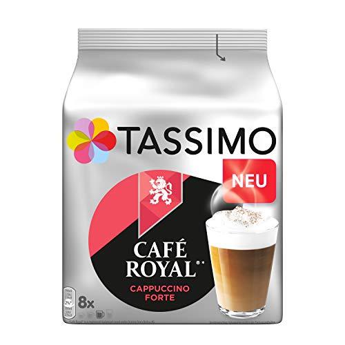 Tassimo Kapseln Café Royal Cappuccino Forte, 8 Kaffeekapseln, 262.4 g