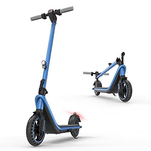 "Patinetes Eléctricos para Adultos, E-Scooter Plegable de 380W/7.5 Ah, Crucero Automático, Tres Modos de Velocidad, Pantalla Multifunción, autonomía 26 km, 8.5"" (Azul)"