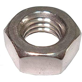 Hex Hexagonal Full Nuts Grade A Mild Steel Self Colour 5//16 BSF Pack of 25 nuts