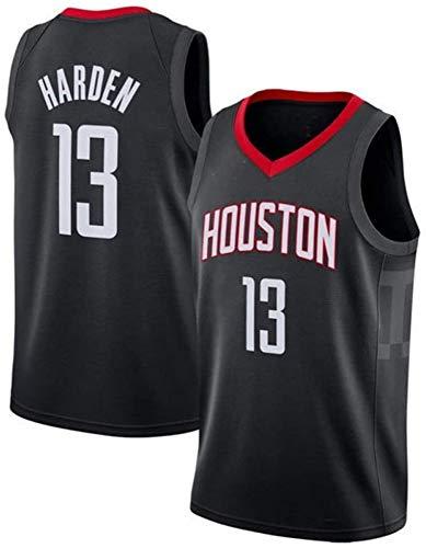 WSUN Camiseta De Baloncesto NBA para Hombre - Houston Rockets NBA 13# Camisetas De James Harden - Camiseta Deportiva De Baloncesto Sin Mangas Transpirable De Ocio,B,XXL(185~190CM/95~110KG)