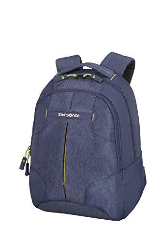 Samsonite Rewind Mochila Tipo Casual, 38 cm, 15 L, Color Azul (Dark Blue)