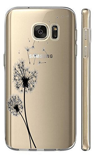 Samsung Galaxy J5 2017 J530 Softcase Cover Backkover TPU Schutzhülle Slim Case (2461 Pusteblume)