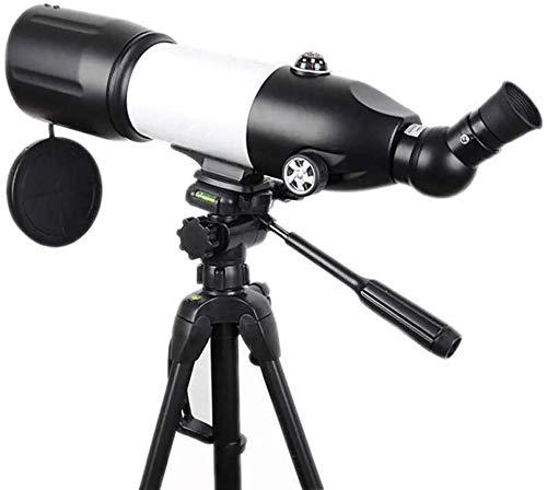 Meyeye Telescoop 80/400 HD Astronomische Telescoop Draagbare Sterrenbeelden Monoculair Met Statief Reisbereik Elescoop (Kleur: Zwart, Maat : 76x125-150cm)