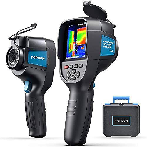 """Thermal Camera Infrared Camera ITC629, 220x160 Resolution, 35200 Pixels Handheld Thermal Imaging Camera, -4°F to 842°F, 9Hz Rate Thermal Imager, 3.2"""" Color Display Chargeable Battery Included"""