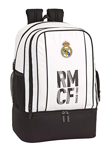 Real Madrid 2018 Sporttasche, 50 cm, 1 liters, Weiß (Blanco)