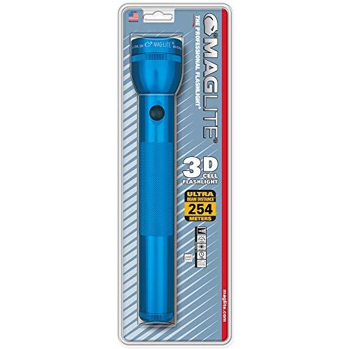 Mag-Lite S3D116 3 D-Cell Lampe Torche Métal Bleu 31,5 cm