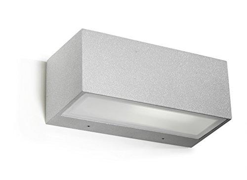 Z5-T2 Nemesis Outdoor Wall Light 1 x E27 max 60 W Urban Gris DEL-C4 05–9649