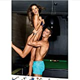 wqmdeshop Actress Top Model Alessandra Ambrosio Soccer