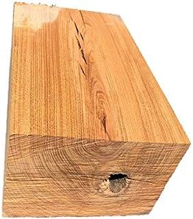 【送料無料!】ケヤキ 欅 けやき ブロック 角材 カット材 粗木 DIY ディスプレイ 334×207×150㎜ 【ワールドデコズ】
