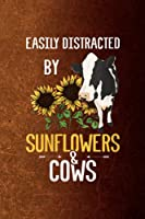 Body Measurements Tracker - Womens Easily Distracted By Sunflowers and Cows