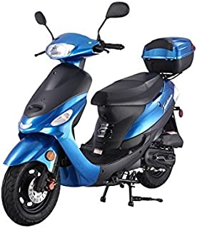 SMART DEALSNOW Brings Brand New 50cc Gas Fully Automatic Street Legal Scooter TaoTao ATM50-A1 - BOLD BLUE