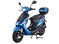 SMART DEALS NOW brings TAO TAO model # ATM-50 with Matching Trunk 49cc / 50cc Street Fully Automatic Legal Scooter with a FREE Trunk PLEASE NOTE : Please add a working PHONE number to your order on Amazon so that shipping company can call you for DEL...