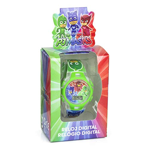 Disney – PJ Masks Reloj Digitale Regalo, pj17026