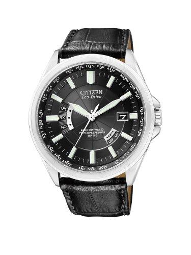 Citizen Mens Watch Elegant Evolution 5 World Timer Eco-Drive Radio Watch CB0010-02E